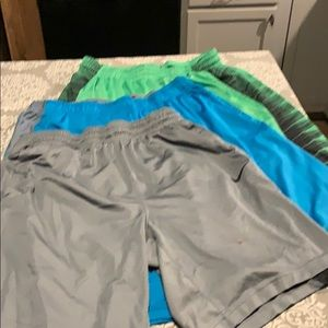 3 pairs of XL Nike dri-fit shorts.